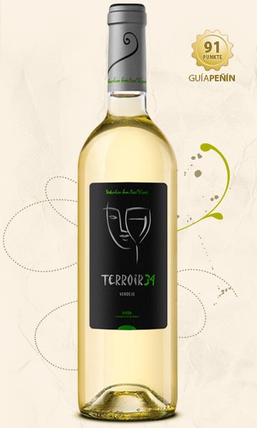 White Terroir34 bottle